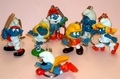 Smurf Keychains