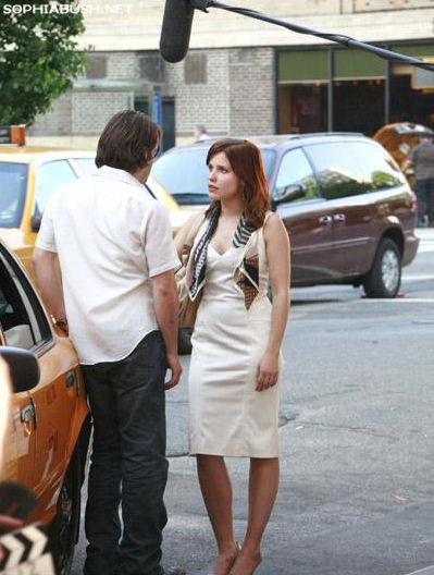 Sophia on the set of &#39;The Narrows&#39; <33