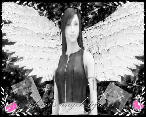 TIFA IS CLOUD'S Angel