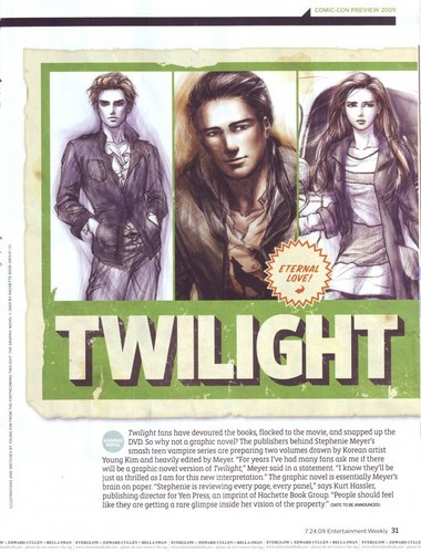 TWILIGHT GRAPHIC  NOVEL