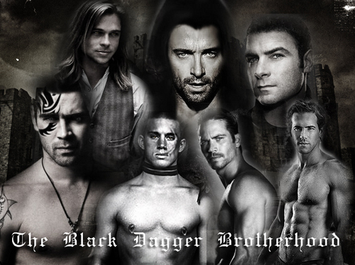 The Black Dagger Brotherhood wallpaper possibly with a hunk and skin titled The Black Dagger Brotherhood