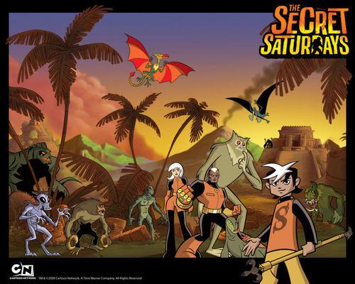 The Secret Saturdays backround