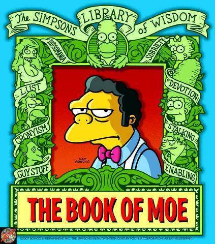 "The Simpsons としょうかん, ライブラリ of Wisdom ""The Homer Book"""