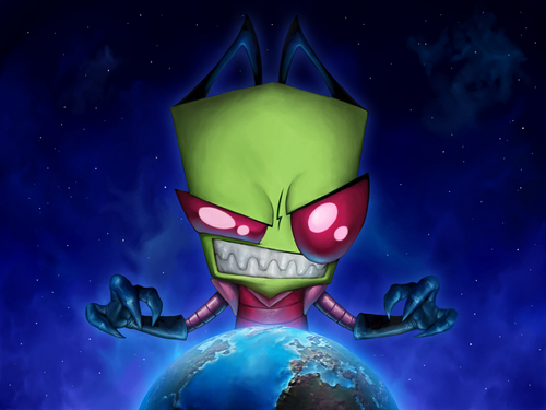 Invader Zim wallpaper called The most AWESOMEST Zim wallpaper ever