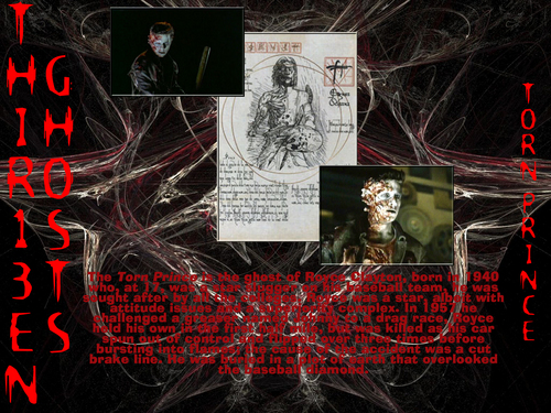 filmes de terror wallpaper containing animê called Thir13en Ghosts