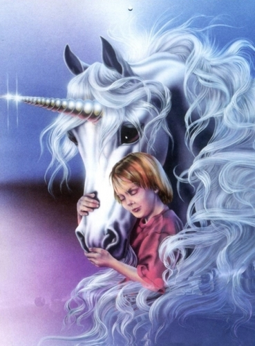 Unicorn and Child