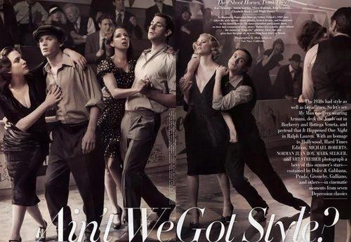 Vanity Fair photoshoot - Ain't We Got Style?