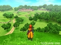 View of the World of Dragon Quest 8