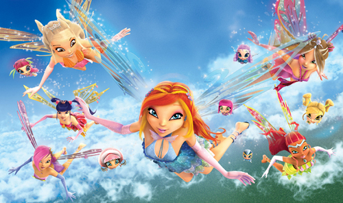 Winx Club Movie wolpeyper titled Winx The Movie