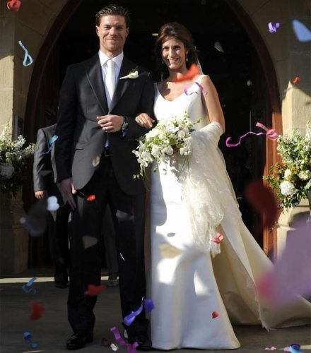 Xabi Alonso Wedding WAGs images Xabi Alons...
