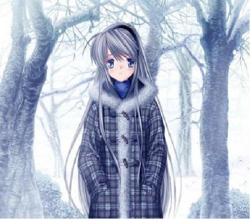 fuu in winter clothes