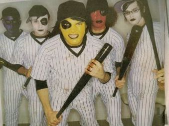 mcr playing baseball?