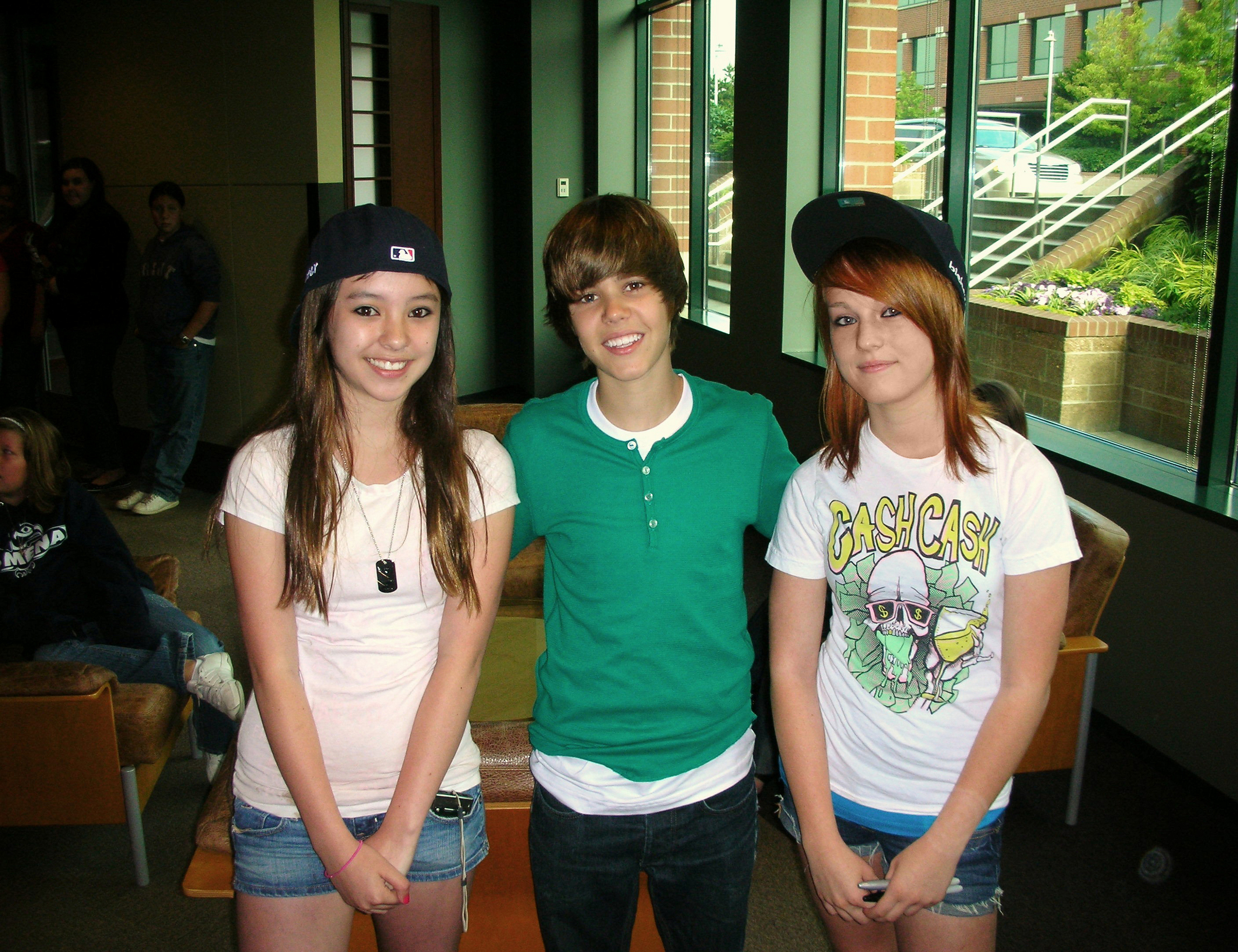 me and justin!