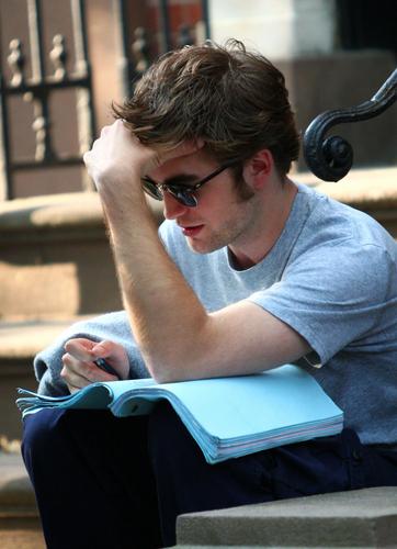rob studying =)
