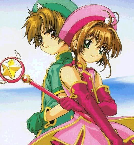 Desenho, anime, mangá,infantil, criança, cartas clow, kero, shaoran