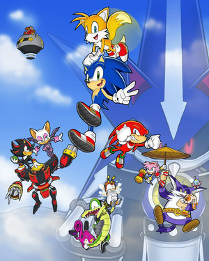 Team Future zoom - Sonic heroes fan Art (23056662) - fanpop