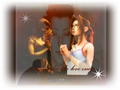 final-fantasy-vii - zack and aerith praying for the love ones wallpaper