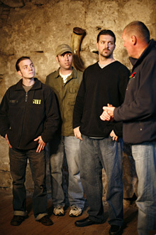 """""""Chillingham"""" - Andy Andrews, Brian Harnois, Robb Demarest and Richard Marsh"""