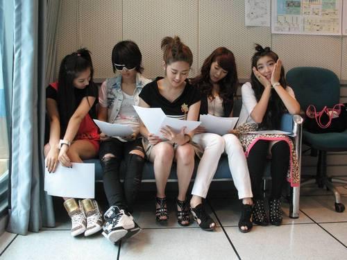 090721 4minute @ SBS PowerFM Choi Hwajung's Power Time