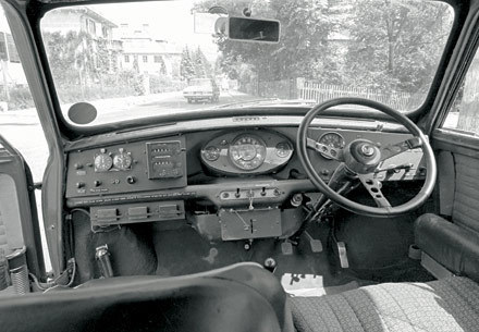 Mini Cooper wallpaper with an automobile called 1966 Mini Cooper S: Inside