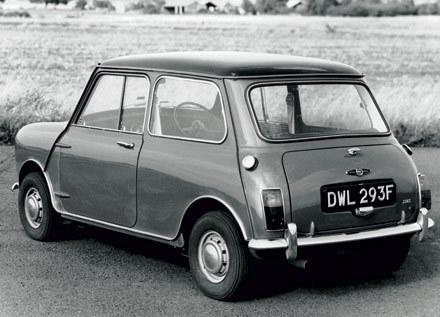 1968 Mini Cooper S MkII