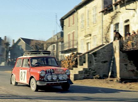 1968 Mini Cooper S: Racing