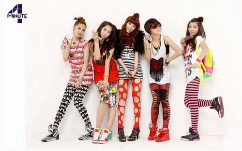 4minute 1677 photoshoot