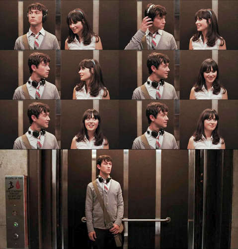 500 Days of Summer wallpaper possibly containing a reading room called 5DOS Picspam