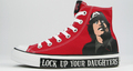 AC/DC converse shoes