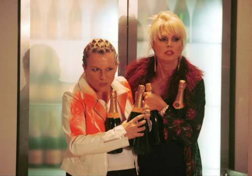 Absolutely Fabulous wallpaper possibly with a portrait called Ab Fab