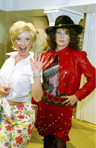 Absolutely Fabulous wallpaper with a boater titled Ab Fab