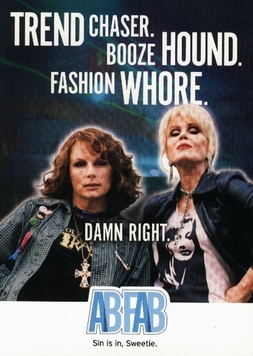Absolutely Fabulous wallpaper containing anime titled Ab Fab