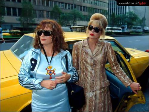 Absolutely Fabulous wallpaper with sunglasses called Ab Fab