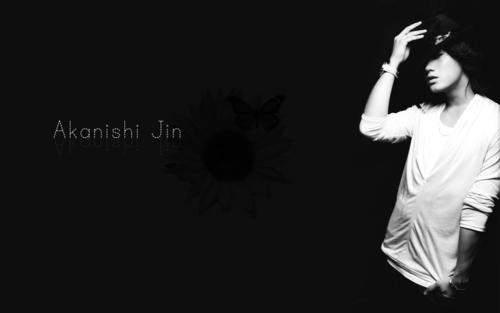 Akanishi Jin kertas dinding