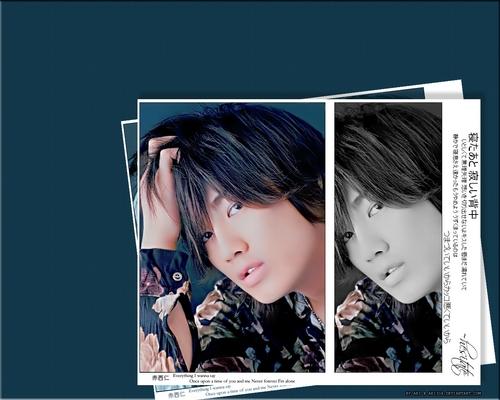 Akanishi Jin fondo de pantalla