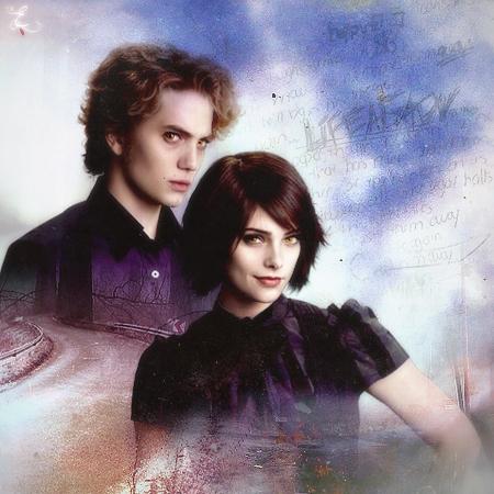 Twilight Series wallpaper entitled Alice&Jasper