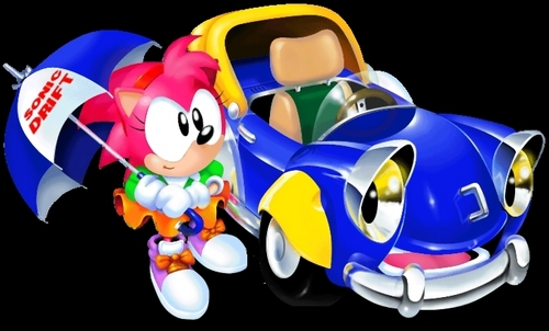 Amy Rose Sonic Drift