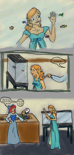 Ariel & Giselle comic