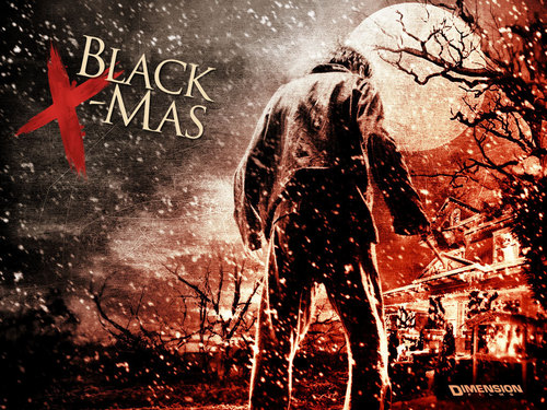 Horror films achtergrond containing a fontein titled Black Christmas