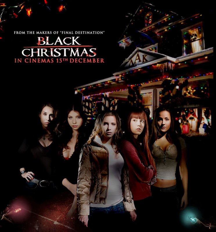 Black x mas black christmas photo 7291135 fanpop Classic christmas films black and white