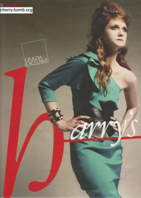 Bonnie in Grazia Magazine