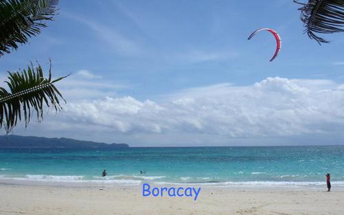 Boracay:A white sand strand