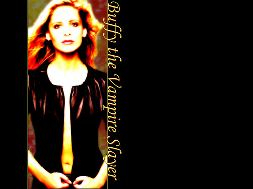 buffy, a caça-vampiros wallpaper called Buffy the Vampire Slayer