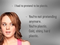 Cady becoming plastic - mean-girls wallpaper