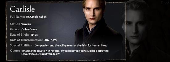 Twilight Character Banner