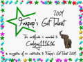 Coolguy111606 Certificate - fanpops-got-talent photo