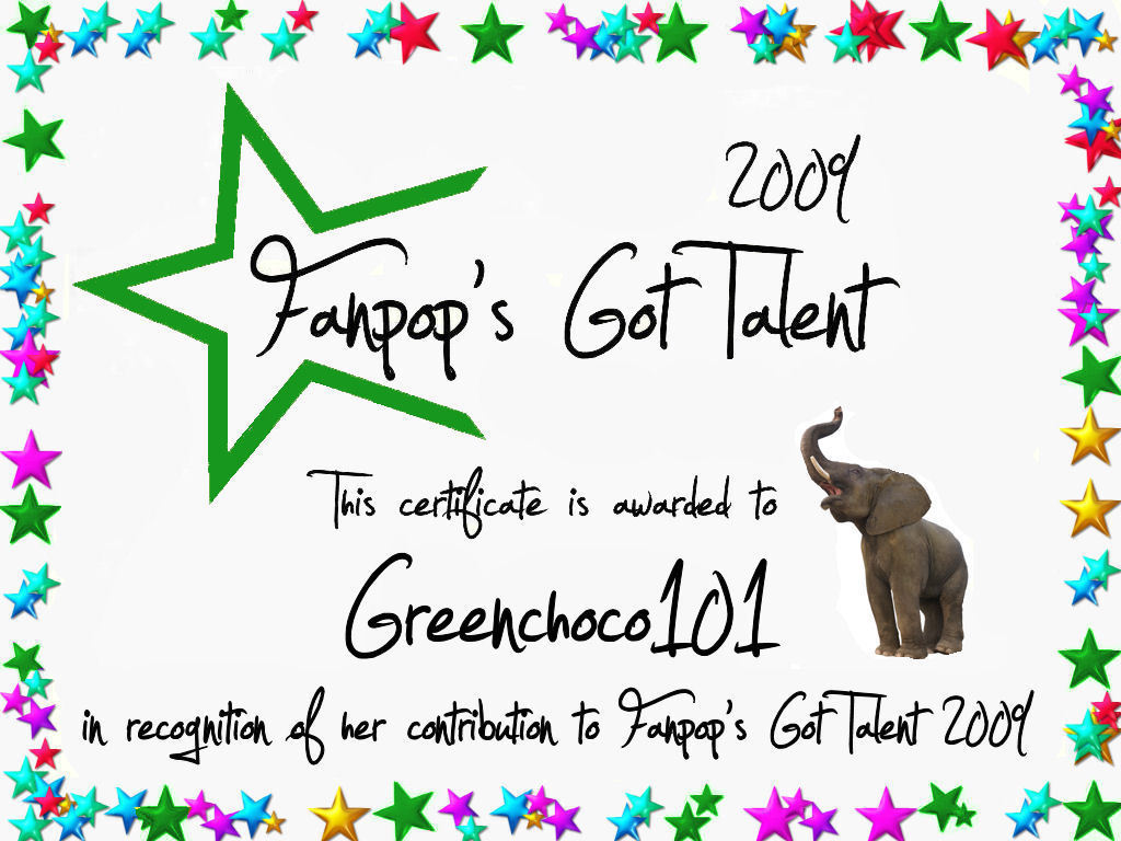Greenchoco101 Certificate