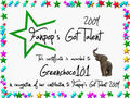 Greenchoco101 Certificate - fanpops-got-talent photo