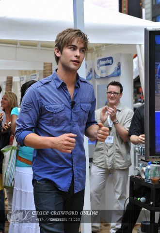Chace Crawford - Nintendo Wii Sports Resort Launch - July 23