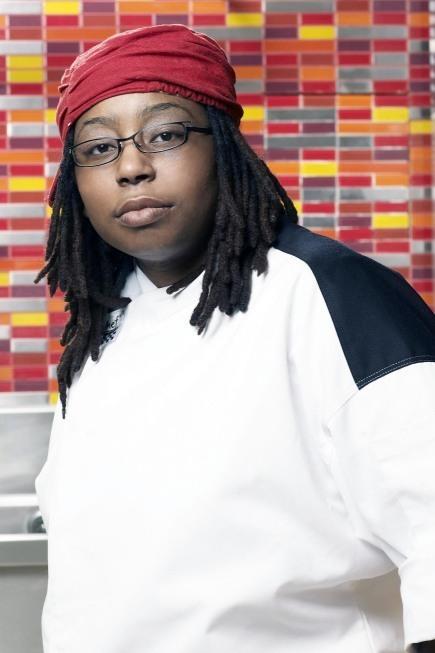 Chef Tennille from Season 6 of Hell's keuken-, keuken